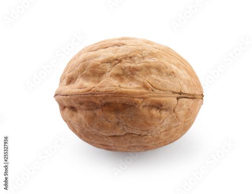 Fotografía  Tasty walnut on white background