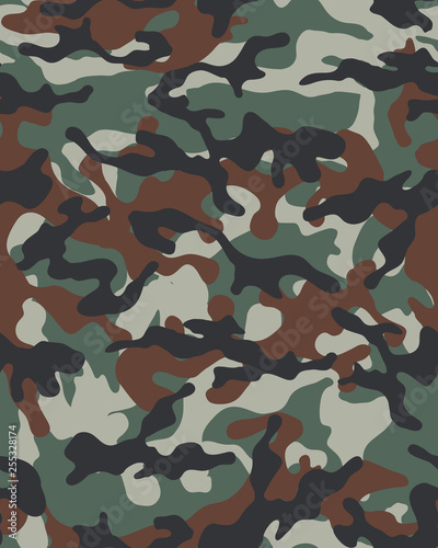 graphic relating to Camo Printable known as Camouflage routine.Seamless armed service wallpaper.Armed service layout