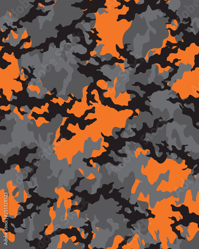 graphic relating to Camo Printable known as Camouflage behavior.Seamless armed forces wallpaper.Armed service design and style
