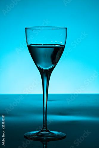 Fotografie, Obraz  Copa de cristal de vino.