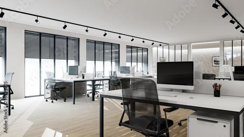 Photo  bureaux d'entreprise scène 3d 02