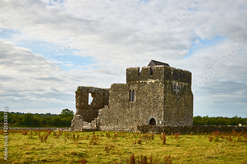 Foto  Irish celtic landscape concept
