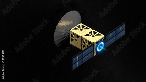 Photo CubeSat et propulsion ionique