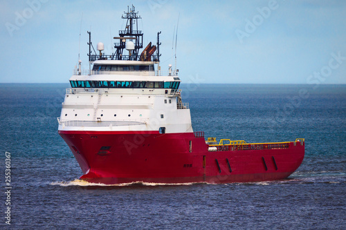 Offshore Supply Ship Canvas-taulu