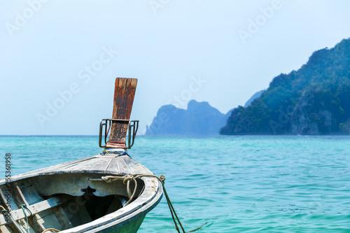Photo  Traditional Thai Boat, Thailand, Phi Phi