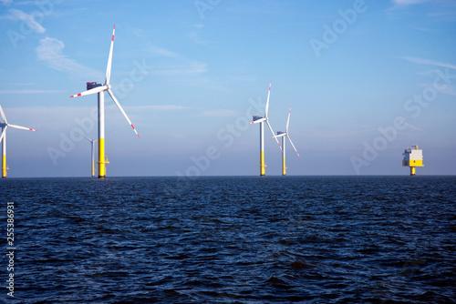 Offshore Windpark - Erneuerbare Energien