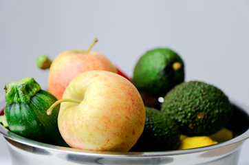 Warzywa i owoce razem