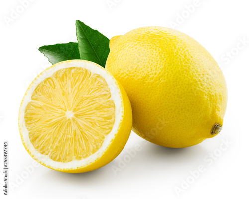 Tela Fresh lemon with half