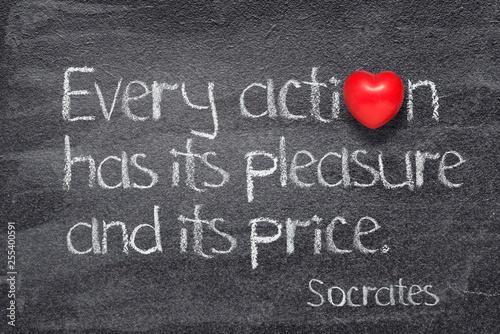 Fotografie, Tablou every action Socrates