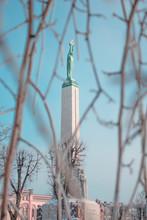 Liberty Statue Of Latvia In Riga Milda