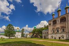 Inner Courtyard Of Borisoglebs...