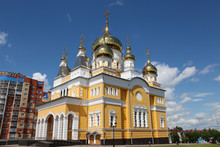 The Church Of Cyril And Methodius In Saransk, Russia