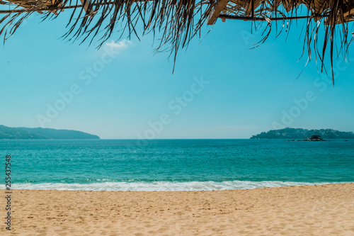 Photo Acapulco's beach landscape
