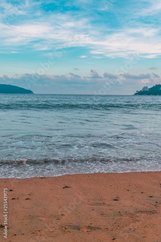 Obraz na plátne Sea edge landscape