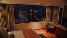 Room With Night View And Time ...