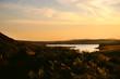 Sunset on Pantland river