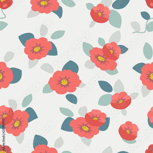783bd294a0ef7 Scandinavian trendy style: seamless minimal summer pattern in cute ...