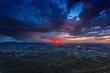 canvas print picture - Juarez Storm