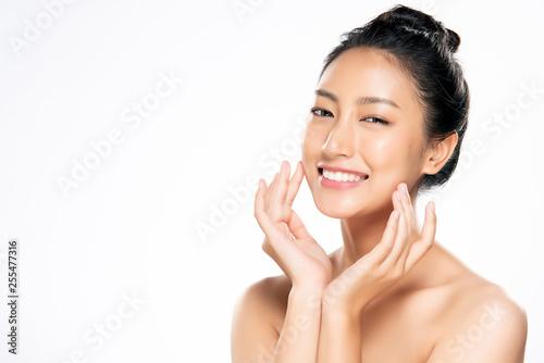 Fotografia  Beautiful Young asian Woman with Clean Fresh Skin