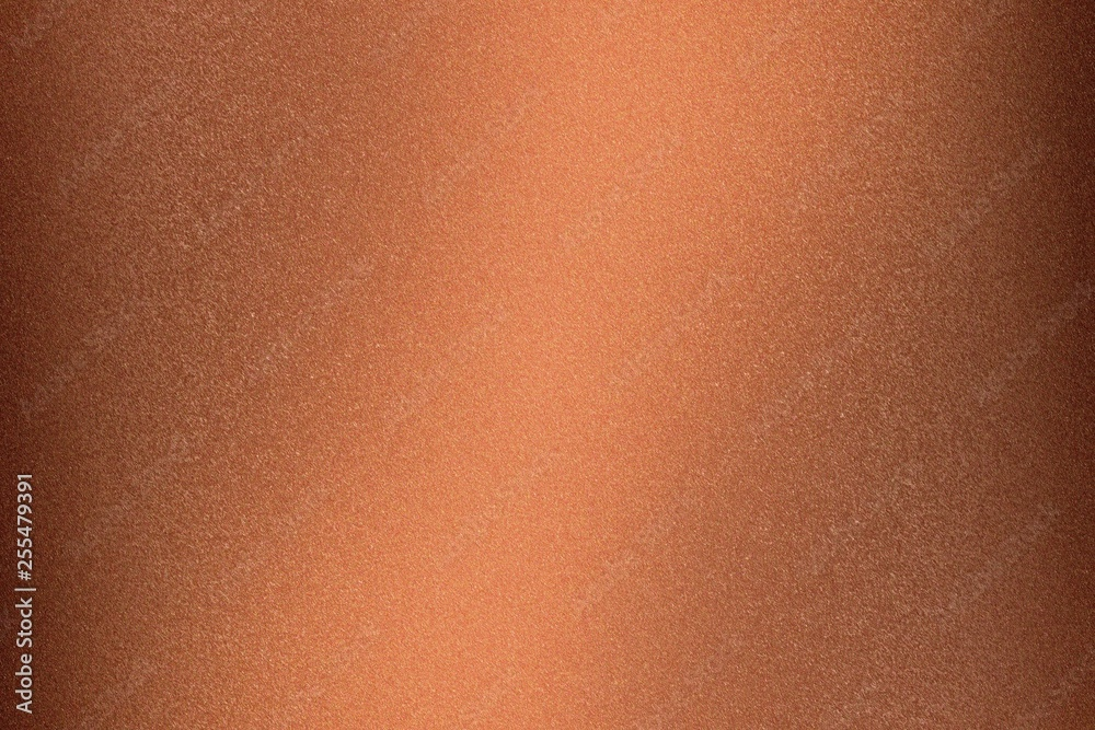 Fototapety, obrazy: Abstract texture background, rough copper metallic wall