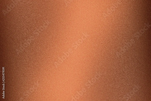 Canvas Print Abstract texture background, rough copper metallic wall