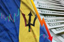 Barbados Flag And Chart Fallin...