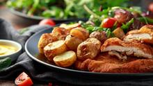 Homemade Breaded Pork Schnitze...