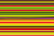 canvas print picture - The many colorful rows, spectrum of colored lines.