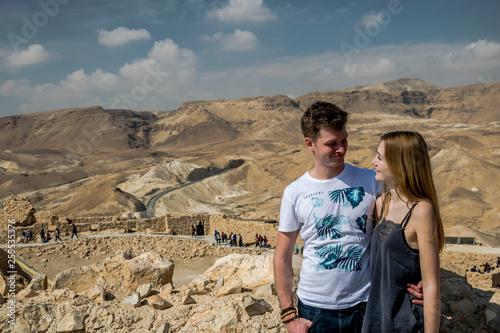 Fotografia, Obraz  Izrael zakochana para