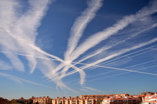 Many Chemtrails Or Contrails  ...