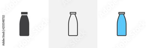 Fototapeta Milk bottle icon