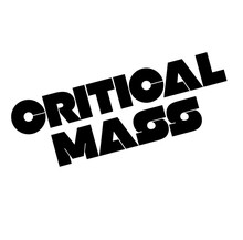 Critical Mass Stamp On White