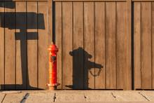 Fireplug On The Side Of Road W...