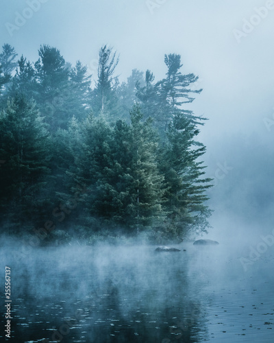 Adirondack Foggy Morning