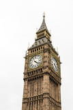 Fototapeta Big Ben - Big Ben great bell clock at the Palace of Westminster in London England