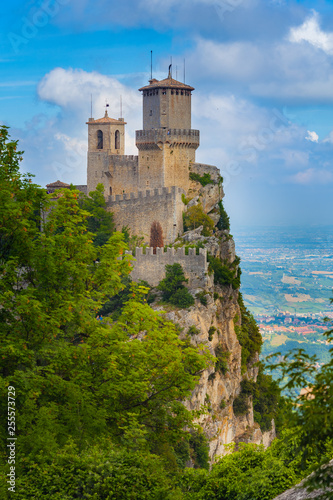 Fotografie, Obraz  Rocca della Guaita, the most ancient fortress of San Marino