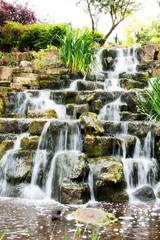 Fototapeta Wodospad waterfall in Regent's park London England