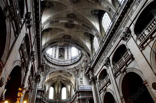 Paris; France - april 2 2017 : Saint Paul Saint Louis church