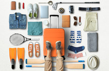 Travel Concept With A Large Su...