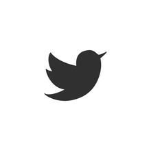 Bird Icon In Simple Design. Ve...