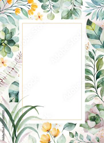 Succulent Printed Greeting Cards