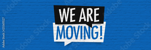 Foto We are moving