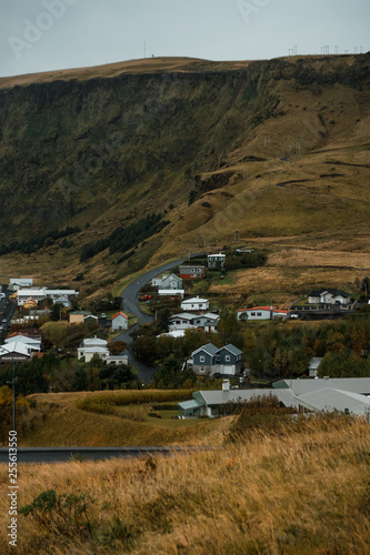 Village Vik in Iceland