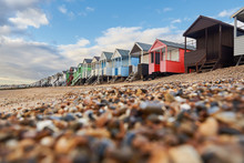 Colorful Cottages On The Beach...