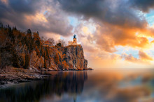 Split Rock Lighthouse During S...