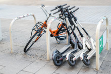 Bicycle And Electric Scooters ...