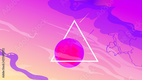 Silhouette Coconut Palm Trees On A Gradient Background Sunset Vaporwave Aesthetics Buy This Stock Vector And Explore Similar Vectors At Adobe Stock Adobe Stock