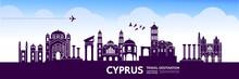 CYPRUS Travel Destination Vect...