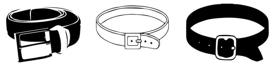 vector illustration of belt