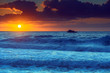Bold and Bright Sunrise Seascape